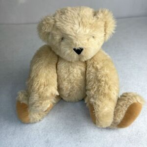 Vermont Teddy Bear Born in Vermont Posable 16 Inch Jointed Light Brown