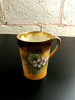 Limoges T & V coffee tea cup. Signed.  Excellent condition.