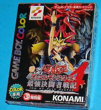 Yu-Gi-Oh! Duel Monsters 4 - Game Boy Color GB Nintendo Gameboy - JAP