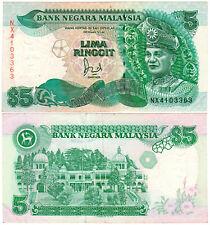 Malaysia $5 P#35 (1995) Bank Negara Malaysia VF