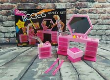 Vintage Barbie and the Rockers 1985 Arco Vanity Set w/ Box