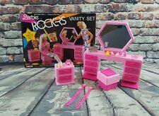 Vintage Barbie and the Rockers 1985 Arco Vanity Set w/ Box