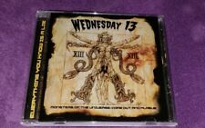 WEDNESDAY 13 cd MONSTERS OF THE UNIVERSE COME OUT AND PLAGUE free US shipping