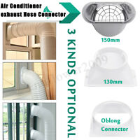 """Portable Air Conditioner Window Pipe Interface Exhaust Hose/Tube Connector 5""""/6"""""""