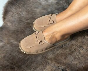 Womens Ladies Slippers Home Shoes Suede Warm Cozy Winter Kapcie Wide