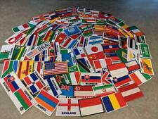 Lot 100 ecusson patch thermocollant drapeau pays region