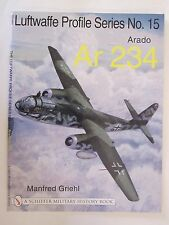 Book: Arado Ar 234 (Luftwaffe Profile Series) 100+ color & BW illustrations