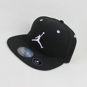 NIKE Youth Air Jordan Jumpman Snapback Basecap Cap Cappi Mütze Kappe Black