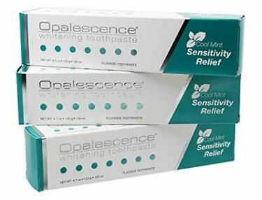 Opalescence Teeth Whitening Toothpaste for Sensitive Teeth Mint Fluoride