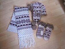 s.oliver Strick Accessoires Mütze, Schal und Handschuhe