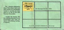 2000 USA Stamp #LT88 Non-Indian SWST Game & Fish Hunting License