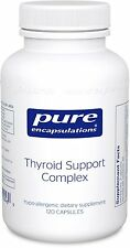 Pure Encapsulations Thyroid Support Complex 120 Vcaps -Optimal Thyroid Gland