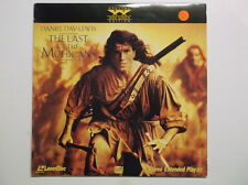Laserdisc The Last of the Mohicans Daniel Day-Lewis, Widescreen Madeline Stowe W
