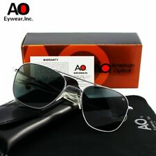 SunGlasses For Men's Glass Lens With Box American Optical Army Military Driving