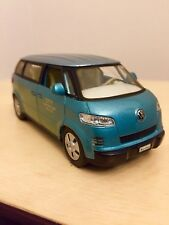 Welly 2001 Volkswagen Pullback Micro Bus City Airport Van 1/43 Scale Diecast