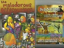 PAUL STAPLETON-MALODOROUS OFFSCOURINGS/SCHNEWS 2 x BOOKS