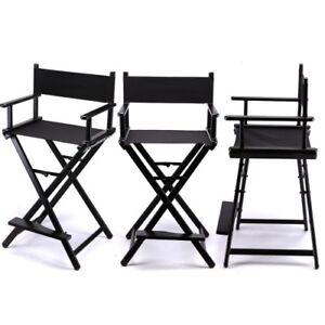Professional Makeup Artist Chair (Black)