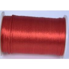 red 2mm Rattail Satin Cord Macrame Beading Nylon kumihimo String DIY 10yds