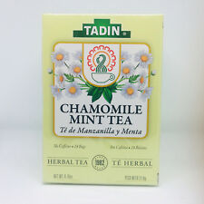 Chamomile Mint Tea - Hot Tea or Iced Tea, Drink it Sweetened with Honey or Sugar