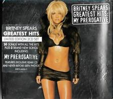 Britney Spears Limited Edition 2cd set - My Prerogative, Greatest Hits