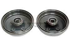 VAUXHALL CORSA C 1.0 1.2 1.4 00-06 REAR 2 BRAKE DRUMS FITTED BEARINGS NO ABS