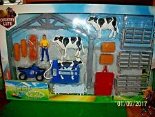 New Bright Country Life Farm Play Set New in Box