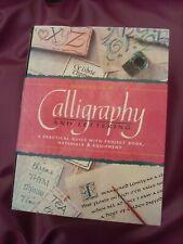 calligraphy vintage set