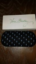 Vera Bradley - Women's Hard Eyeglass Case - Alpine Black ( Retired ) - Nib