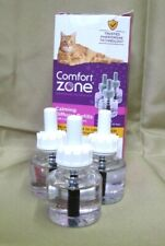 Comfort Zone Cat Calming Diffuser Refills 3 Pack
