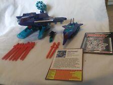 Vtg G2 Dreadwing & Smokescreen Complete Lot 1993 Transformers