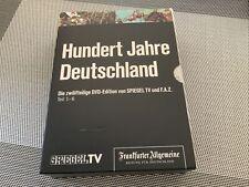 Hundert Jahre Deutschland Teil 1-6 DVD DVD Sind Noch Eingeschweißt,