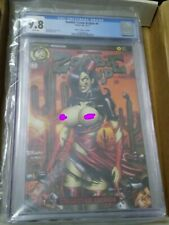 Zombie Tramp Origins 4 cgc 9.8 NM action lab comic mendoza Awesome Cover!