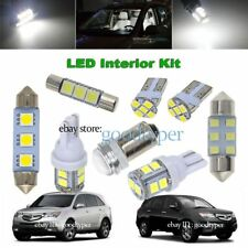 15x White Map Dome LED lights interior package kit fit 2007-2009 Acura MDX