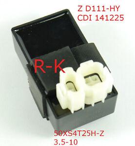CDI Steuetrgerät für 4Takt China Roller Drossel 25km Scooter 50XS4T25H-Z