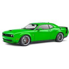 Dodge Challenger R/T Scat Pack Widebody 2020 Green 1/18 - S1805704 SOLIDO