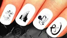 Disney Nail Decals Stickers Mickey mouse heads Castle Minnie NAIL ART set 217