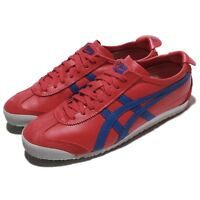 Asics Onitsuka Tiger Mexico 66 True Red Blue Men Running Shoes D4J2L-2345