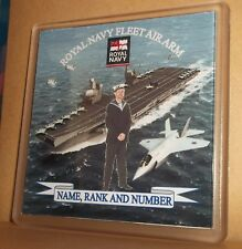 Royal Navy Fleet Air Arm coasters (pack of 4) free postage.