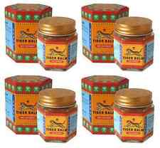 Tiger Balm Red Massage Muscle Arthritis Joint Aches Pain Relief Ointment 4x30 g.