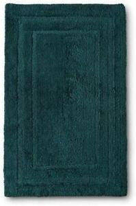 "NEW Target FIELDCREST Egyptian Cotton Bath Rug Heir Blue 25"" x 40"""