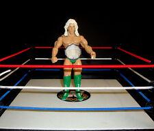 WWE RIC FLAIR ALL GREEN  CUSTOM FIGURE  jakks classic legend WCW wwf