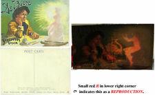 DeBiere Sculptor's Vision Postcard-Hold to the Light-Leda & the Swan-v.Fine-Oo.