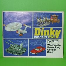 Dinky / 1976 No 12 Catalogue