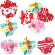 Female Pet Dog Pants Suspender Braces Menstrual Sanitary Cotton Nappies Diapers