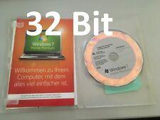 Microsoft Windows 7 Home Premium - 32-Bit - DVD - OEM - Vollversion - Deutsch