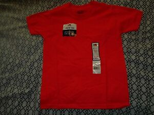 Fruit Of The Loom Boys 4/5 Orange Shirt
