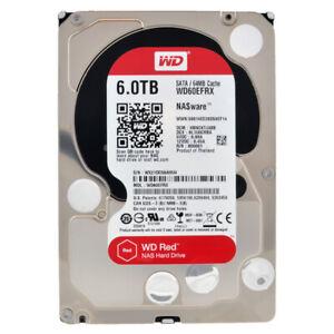 Western Digital Red 6TB WD60EFRX NASware 3.0 SATA III 64MB 3.5''