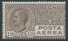 1926-28 REGNO POSTA AEREA 1,20 LIRE MNH ** - Y183