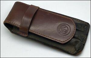 Original Leather Travel Belt Case for 3 Fp, Brown, Argentina (#MI158)