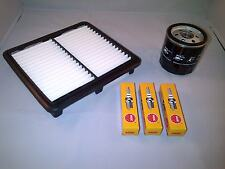 Daewoo Matiz 0.8 800cc Petrol Service Kit Oil + Air Filter Spark Plugs 1998-2004